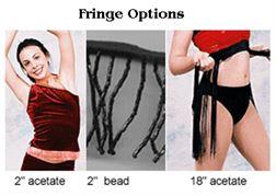 #905 Fringe Pumpers Dancewear