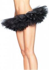 A1705 Organza Tutu - Black or White Pumpers Dancewear