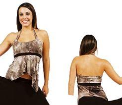 2241 - Halter top|Pumpers Dancewear