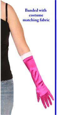 #812 - Banded Glove 15in.|Pumpers Dancewear
