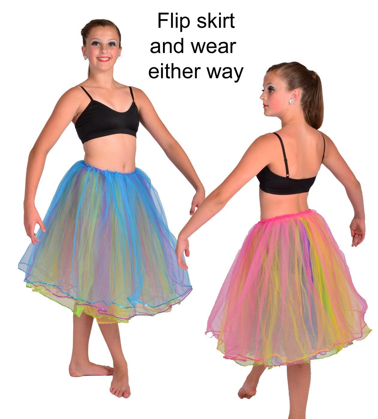 6001 sequin layered tutu|Pumpers Dancewear