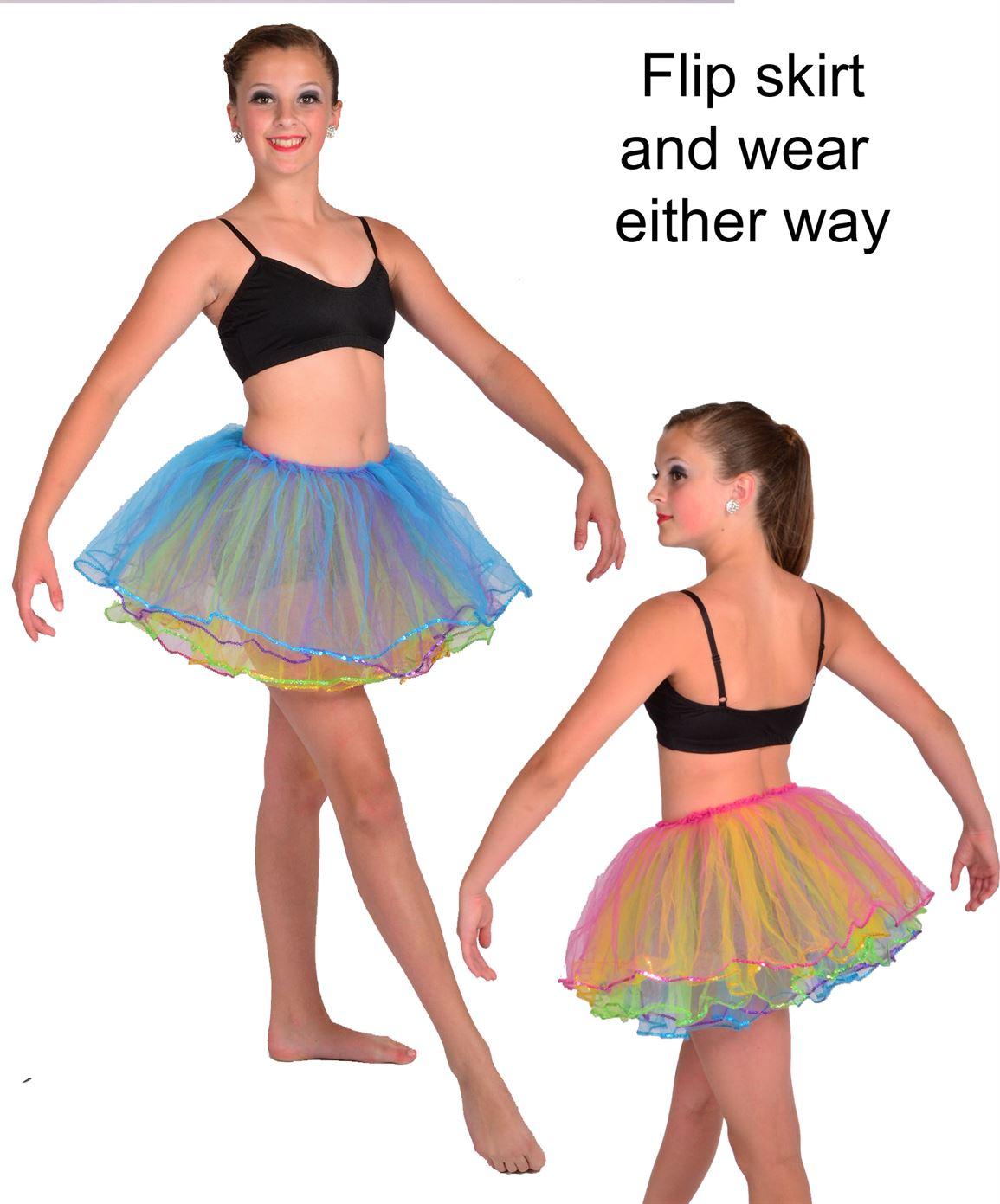 6002 sequin layered tutu|Pumpers Dancewear