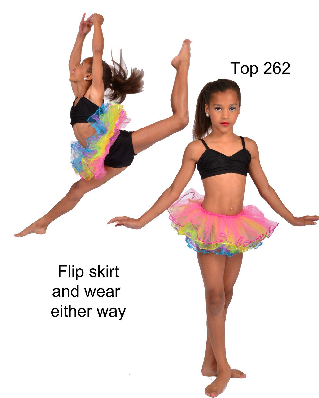 6003 sequin layered tutu Pumpers Dancewear