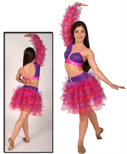 80384 - Pink & Purple - Adult Small