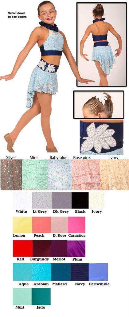 80363 Sequin Lace|Pumpers Dancewear