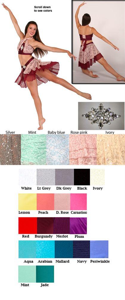80364 - Sequin Lace|Pumpers Dancewear