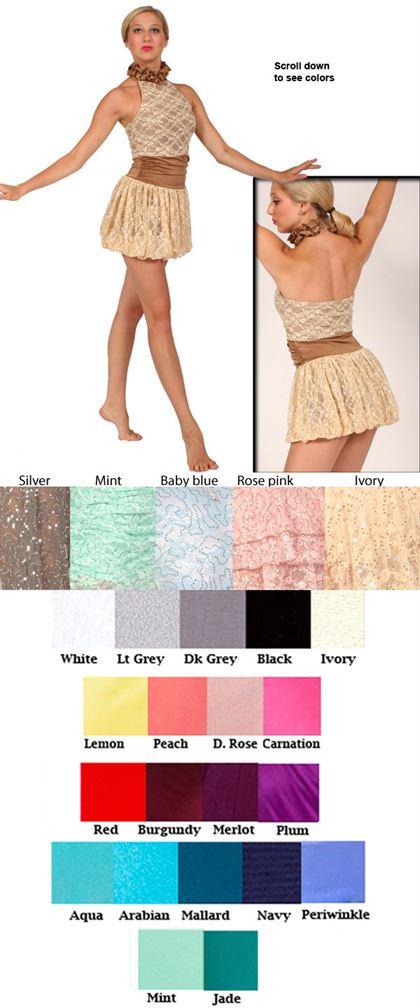 80365 Sequin Lace|Pumpers Dancewear