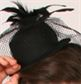 #HAT1 - Top Hat with Netting|Pumpers Dancewear