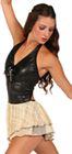 80492 - Leather & Foil Lace|Pumpers Dancewear