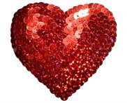 Sequin Heart