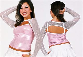 2212 - Shrug Pumpers Dancewear