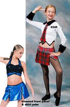 Skirt 601 Pumpers Dancewear