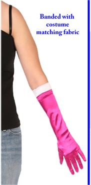 #812 - Banded Glove 15in.|Pumpers Dancewear