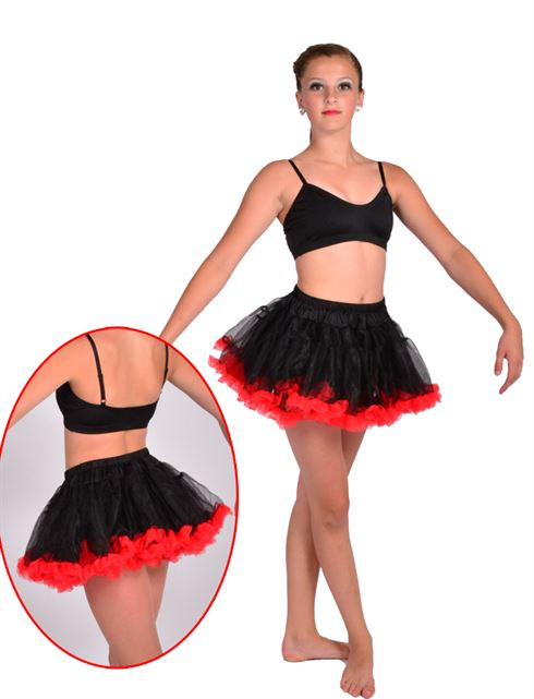 6000 layered tulle petticoat Pumpers Dancewea