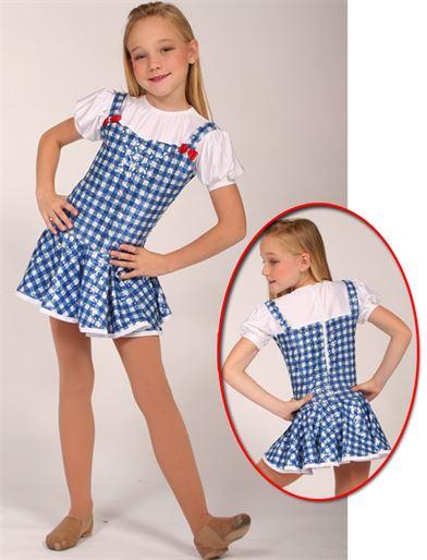 80042 - Dorothy - Gingham|Pumpers Dancewear