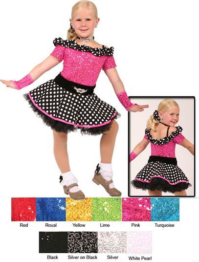 80143 - At the Hop|Pumpers Dancewear