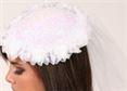 #HAT10 -Teardrop hat with Flower Trim|Pumpers Dancewear