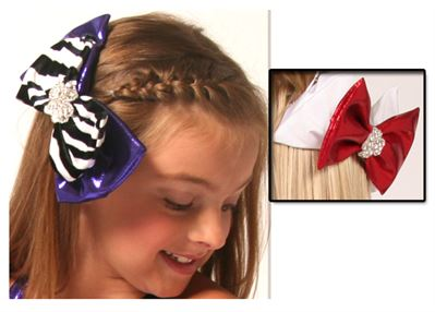 #HB1 - Double Hair Bow|Pumpers Dancewear