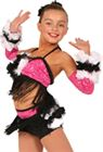 80432 - B-W Flowers|Pumpers Dancewear