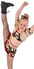 80738 - Military Camo Pumpers Dancewear