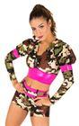 80739 - Military Camo Pumpers Dancewear
