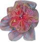 #FP7 2-Tone Organza Flower Pin Pumpers Dancewear