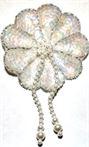 AP34- Beaded Flower